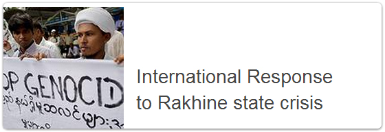 international res to rakhine state crisis
