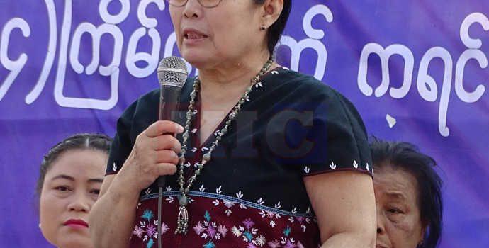 ငြိမ်းချမ်းရေးတွင် ပိုမိုပါဝင်နိုင်ရေး စွမ်းရည်မြှင့်တင်ထားရန် ကရင်အမျိုးသမီးထုအား KNU အမျိုးသမီးခေါင်းဆောင် တိုက်တွန်း