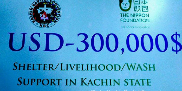 Nippon Foundation Assistance Prioritized for IDPs in Govt-Controlled Areas