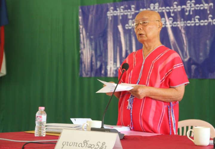 ကရင်လက်နက်ကိုင်အဖွဲ့ခေါင်းဆောင်များ တွေ့ဆုံပွဲတွင်  အမျိုးသားရေး၊ တိုင်းပြည်အရေးအကြောင်းပြပြီး ငြိမ်းချမ်းရေး မဖျက်ဆီးရန် KNU ဥက္ကဌ သတိပေး