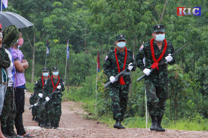 KNU requests the public to avoid urgent uploading of military activities